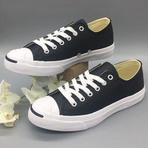 Converse JACK PURC LEA OX BL Black/white